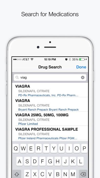 Drugs & Medications Screenshot 1