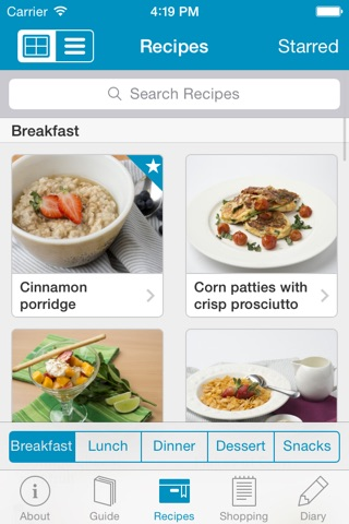 Monash University FODMAP diet screenshot 4