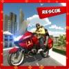 Bike Rider Ambulance Rescue