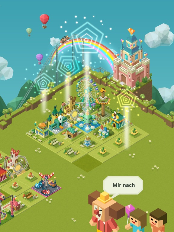 Screenshot 2 2048 Tycoon: Theme Park Mania
