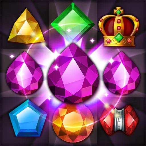 全てのマスで宝石を消す無料ゲーム ジュエルクエ …