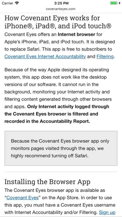 Covenant Eyes Скриншоты4