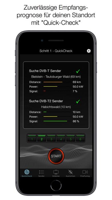 DVB-T2 Finder Screenshots