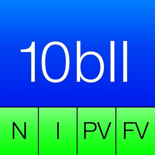 10BII Calc HD app icon图