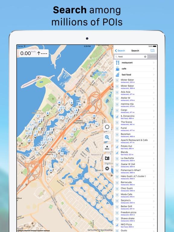 Galileo Offline Maps Pro Screenshots