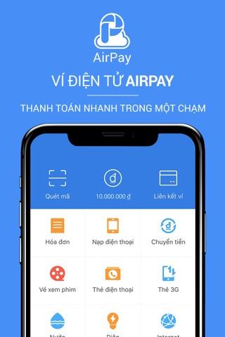 Ví điện tử AirPay screenshot 1