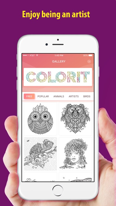 Color it - Coloring book !! screenshot 4