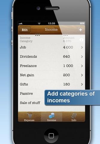 Easy Family Budget Planner screenshot 3