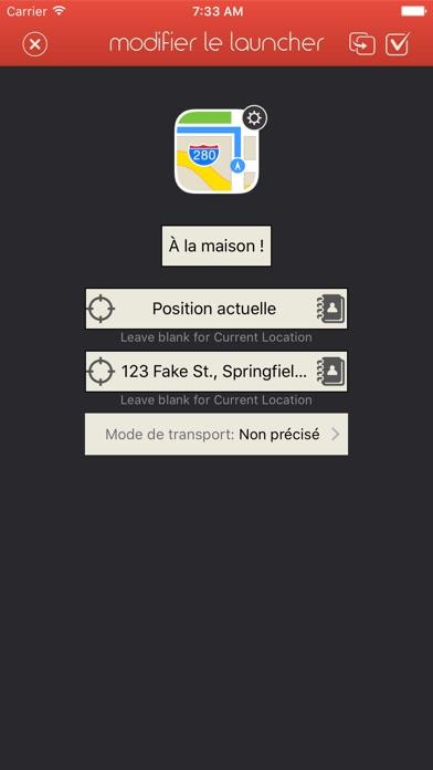 Launcher avec widgetCapture d'écran de 5