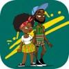 GhanaTok Stickers