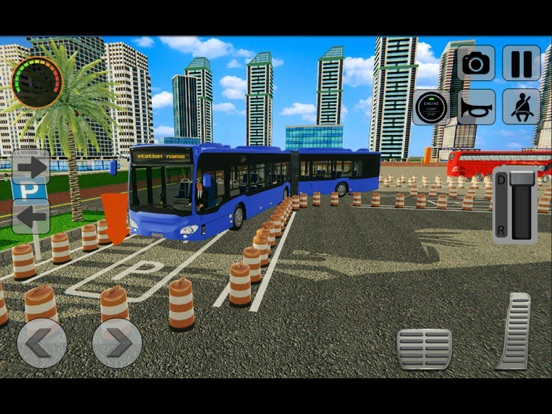 3D Bus Driving Academy Game screenshot 10
