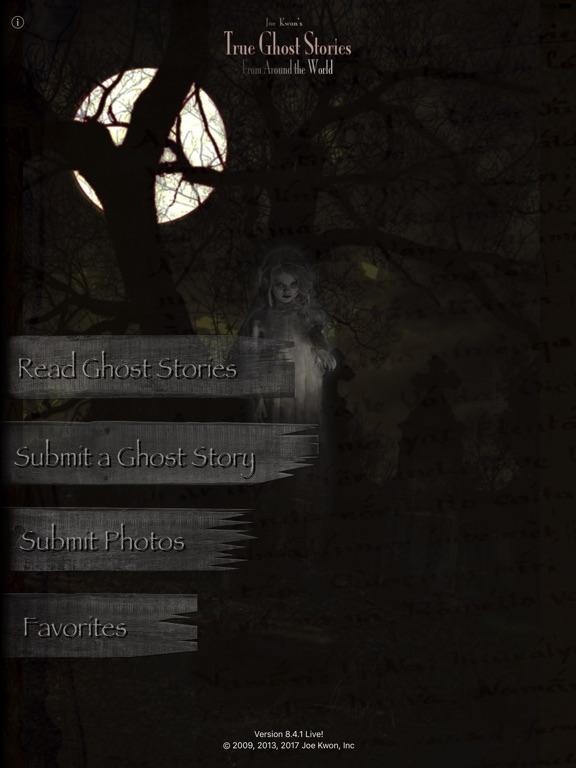 Screenshot #1 for Joe Kwon's True Ghost Stories