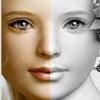 Face Mirror-Symmetry half face-perfect face