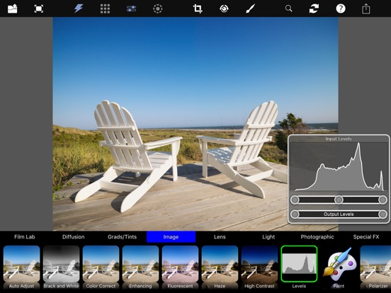 Digital Film Tools for iPad Screenshots