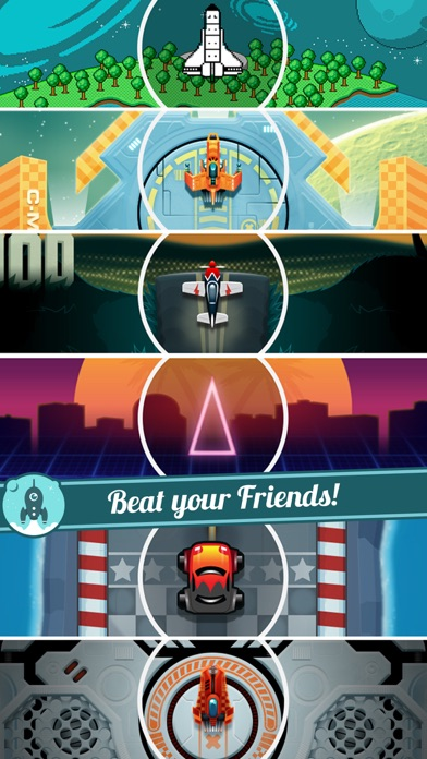 Screenshots of Let's Go Rocket - Ultimate Endless Space Adventure for iPhone