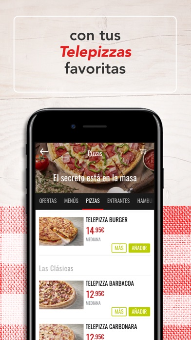 download Telepizza - Comida a domicilio apps 1