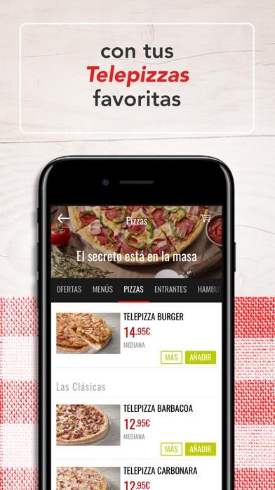 download Telepizza - Comida a domicilio apps 2