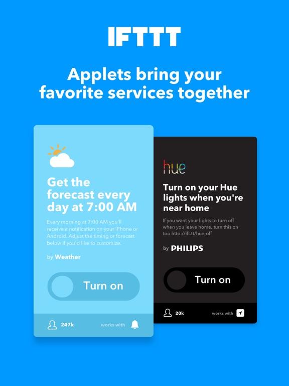 IFTTT Screenshots
