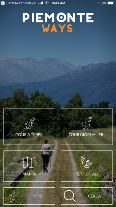Screenshot of PiemonteWays1