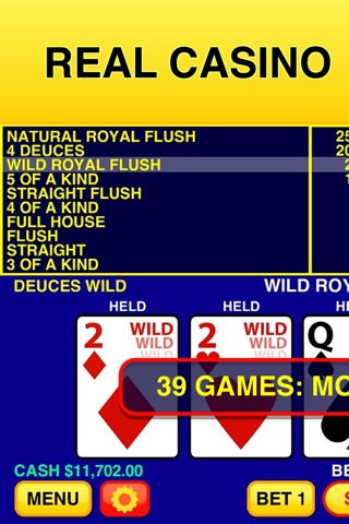 Video Poker Classic - 39 Games screenshot 1