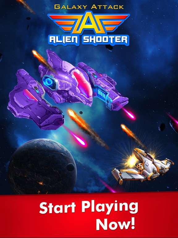 Игра Galaxy Attack: Alien Shooter