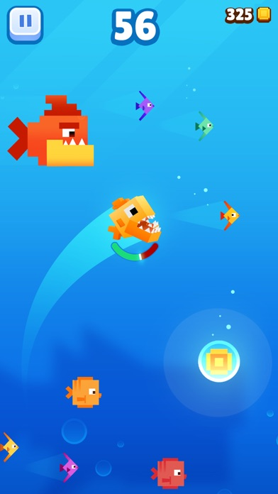 Fishy Bits 2 iOS Screenshots