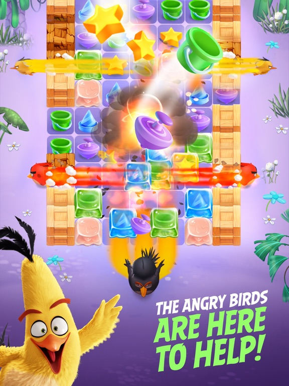 Angry Birds Match Screenshots