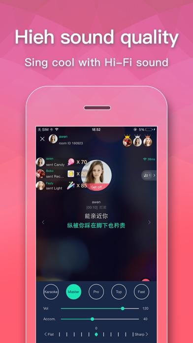 Siren: Karaoke & Social - Sing screenshot 4