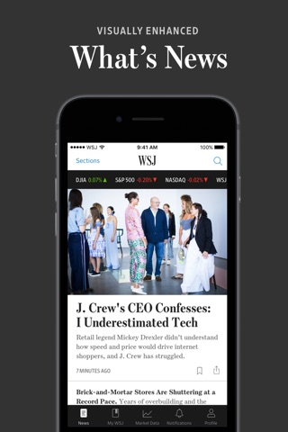 The Wall Street Journal. screenshot 1