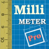 Millimeter Pro - screen ruler on scale paper