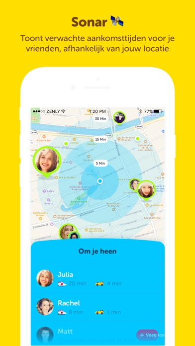 Zenly - iPhone app - AppWereld