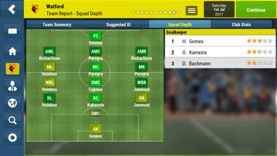 Football Manager Mobile 2018 Screenshot 5