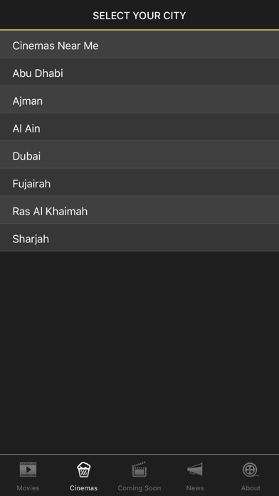 UAE Cinema Showtimes - LiteScreenshot of 3
