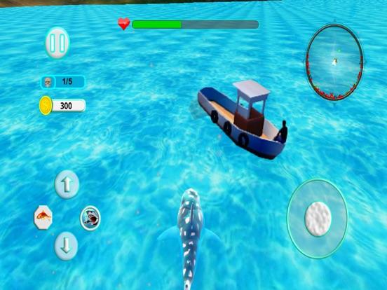 Акула Атака эволюция 3D Скриншоты8