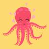 Himanshu Yadav - Adorable Octopus Stickers  artwork