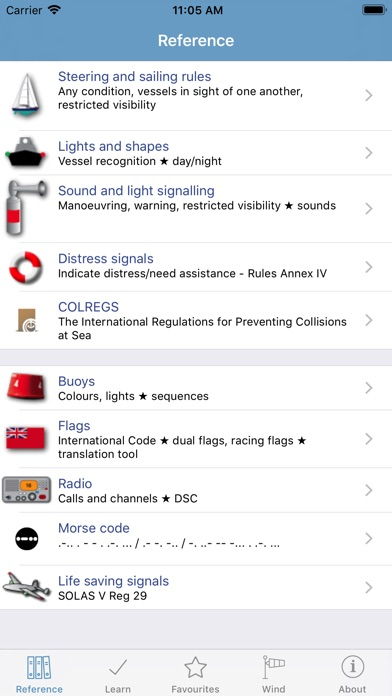 Marine Rules & Signals Screenshot 1