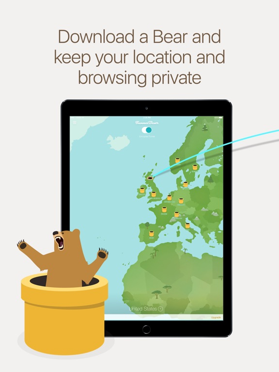 TunnelBear VPN & Wifi Proxy Screenshots