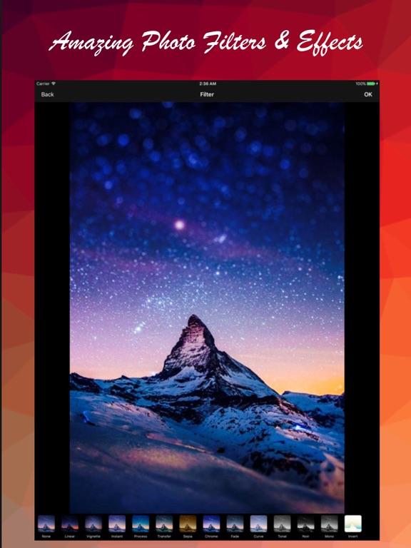 VisualX - Enhance your photos Screenshots
