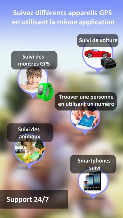 iMap localiser mes amis iPhoneCapture d'écran de 5