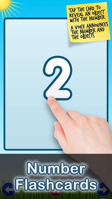 Number Quiz Lite - Tantrumapps Скриншоты4