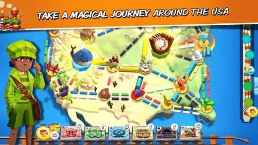 Ticket to Ride: First Journey Screenshots