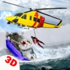 RC Helicopter Flying Emergency 3d