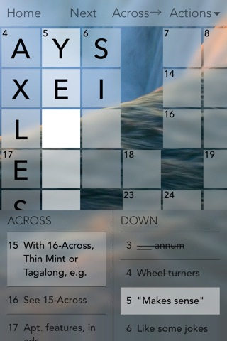 Crossword Puzzles! screenshot 2