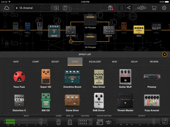 BIAS FX: Guitar Amp & effects Screenshots