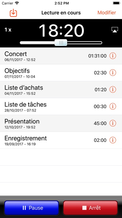 Screenshot #2 pour iRecorder Pro - SimpleTouch