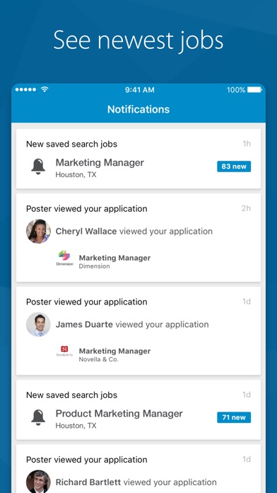 download LinkedIn Job Search appstore review