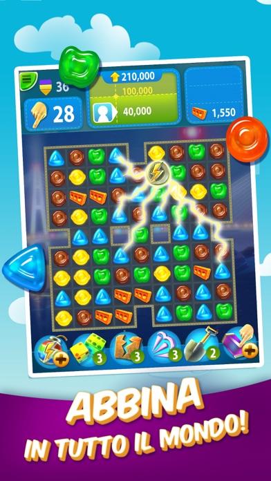 Screenshot of Gummy Drop! - Abbina e Viaggia2