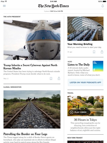 The New York Times screenshot 1
