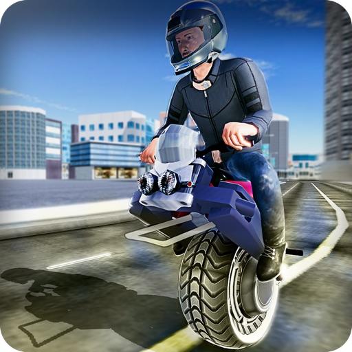 Gyroscopic motor bike riding
