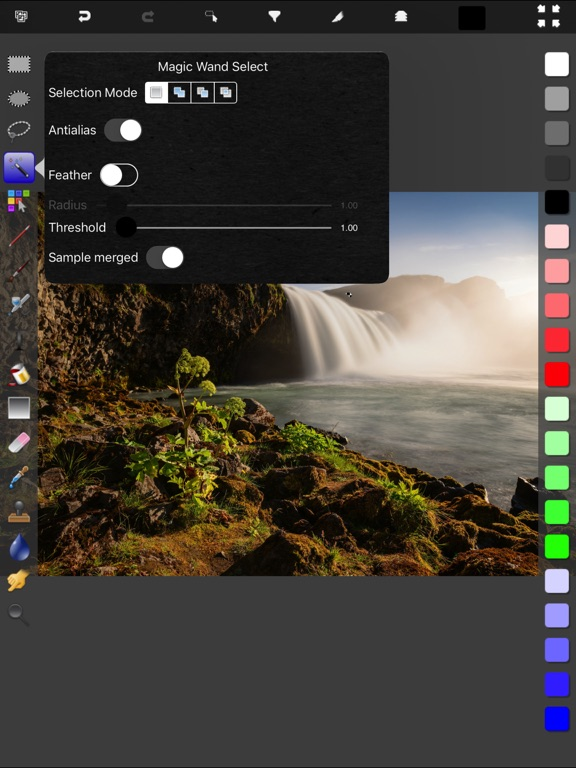 Touch Image Manipulator Screenshots